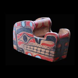 Rare Nuu-chah-nulth Wolf Headdress Circa 1890