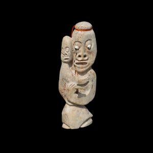 Important Inuit Bone Carving Judas Ullulaq Gjoa Haven