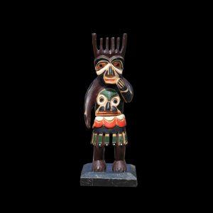 Fine Rare Old Haida Tlingit Shaman Figure Circa 1920