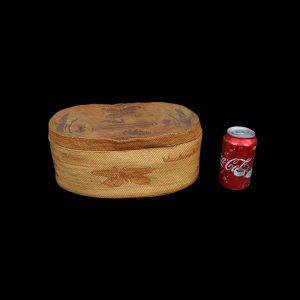 Very Fine Huge Rare Nuu-chah-nulth Makah Lidded Wedding Basket Circa 1900