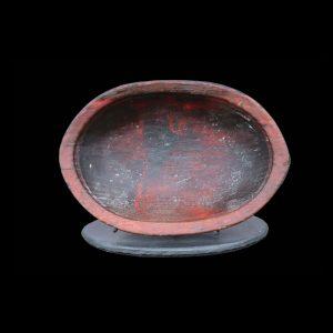 Fine Early Eskimo Yupik Oil Food Bowl 19th Century