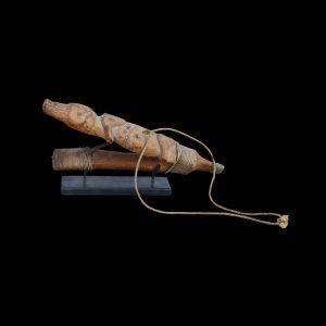 Impressive Early Haida Figural Halibut Hook Circa 1860